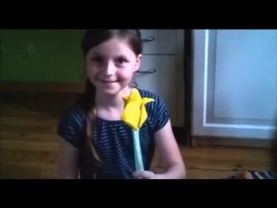 DIY: Papierblumen basteln