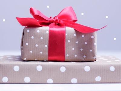 DIY | Pünktchen Geschenkpapier selber machen | Polka Dots | Geschenke | Basteln | chestnut!