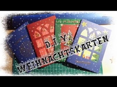 [D.I.Y.] Weihnachtskarten basteln