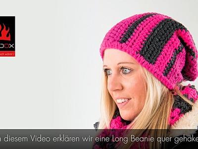 Hotbox Long Beanie (Fallhaube) - Pink