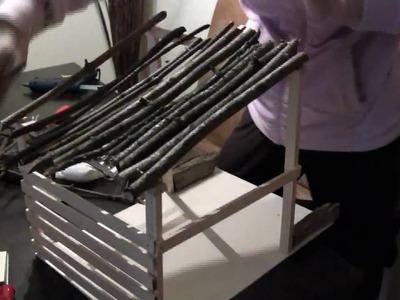 Krippe selber bauen | Basteln zu Weihnachten