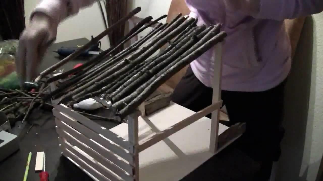 krippe selber bauen basteln zu weihnachten. Black Bedroom Furniture Sets. Home Design Ideas