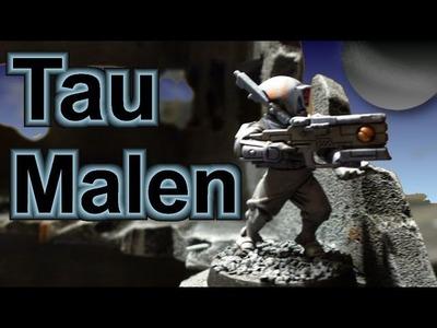 Lets paint Minis # 12 - Bemal Tutorial Warhammer 40K Tau Späher Teil 2 für Anfänger