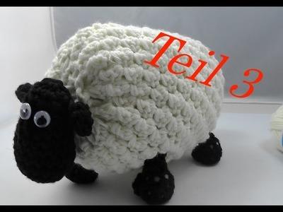SHIRLEY von SHAUN das Schaf Häkeln mit Veronika Hug - Teil 3 Kopf