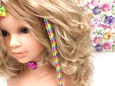 Hair Loom Alternative! - Loom Haar Extensions mit Loom Bands. DIY Anleitung deutsch