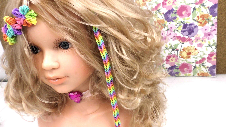 Hair Loom Alternative! - Loom Haar Extensions mit Loom Bands. DIY Anleitung deutsch