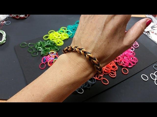 Ideen mit Herz - Loom Bänder - Armband Idee Nr. 2