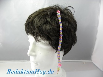 Loom Bands HairLoom Rainbow Loom D Veronika Hug