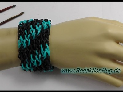 Loom Bands ohne Rainbow Loom Deutsch A 5 - Veronika Hug