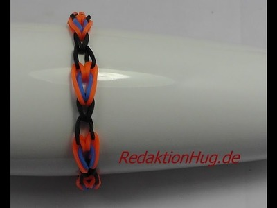 Loom Bands Rainbow Loom Anleitung Deutsch - Veronika Hug