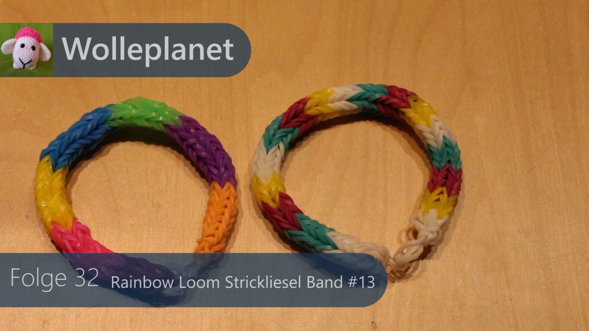 Loom Strickliesel Band #13
