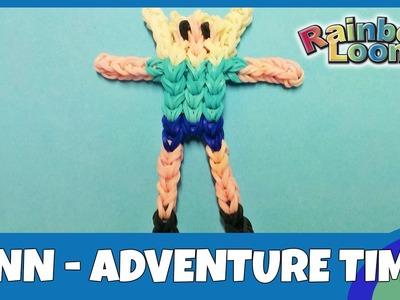 Rainbow Loom Finn aus Adventure Time - deutsche Anleitung