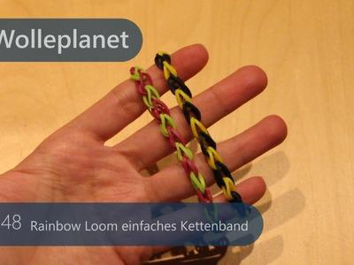 Rainbow Loom - Kettenband Häkeln