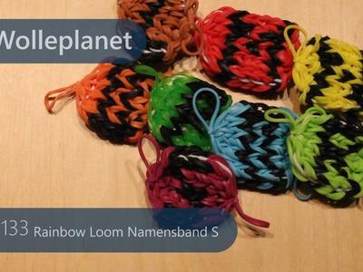Rainbow Loom Namensband S mit Loom