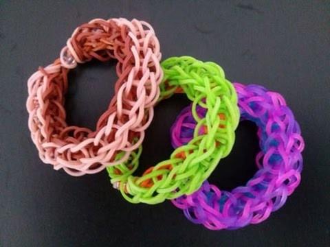 Armband,Crazy Loom,Rainbow Loom,Zauber Loom,Anleitung,Deutsch