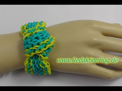 Loom Bands ohne Rainbow Loom Deutsch A 7 - Veronika Hug