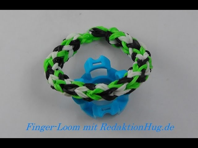 Loom Bands - Rainbow Loom - Finger-Loom - Band C - Veronika Hug