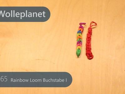 Rainbow Loom Buchstabe I mit Gabeln