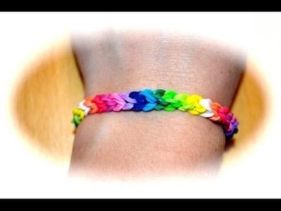 Rainbow Loom Doppelarmband (deutsche Anleitung)