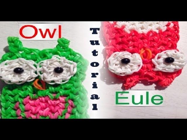 Rainbow Loom Neue Eule | German Tutorial