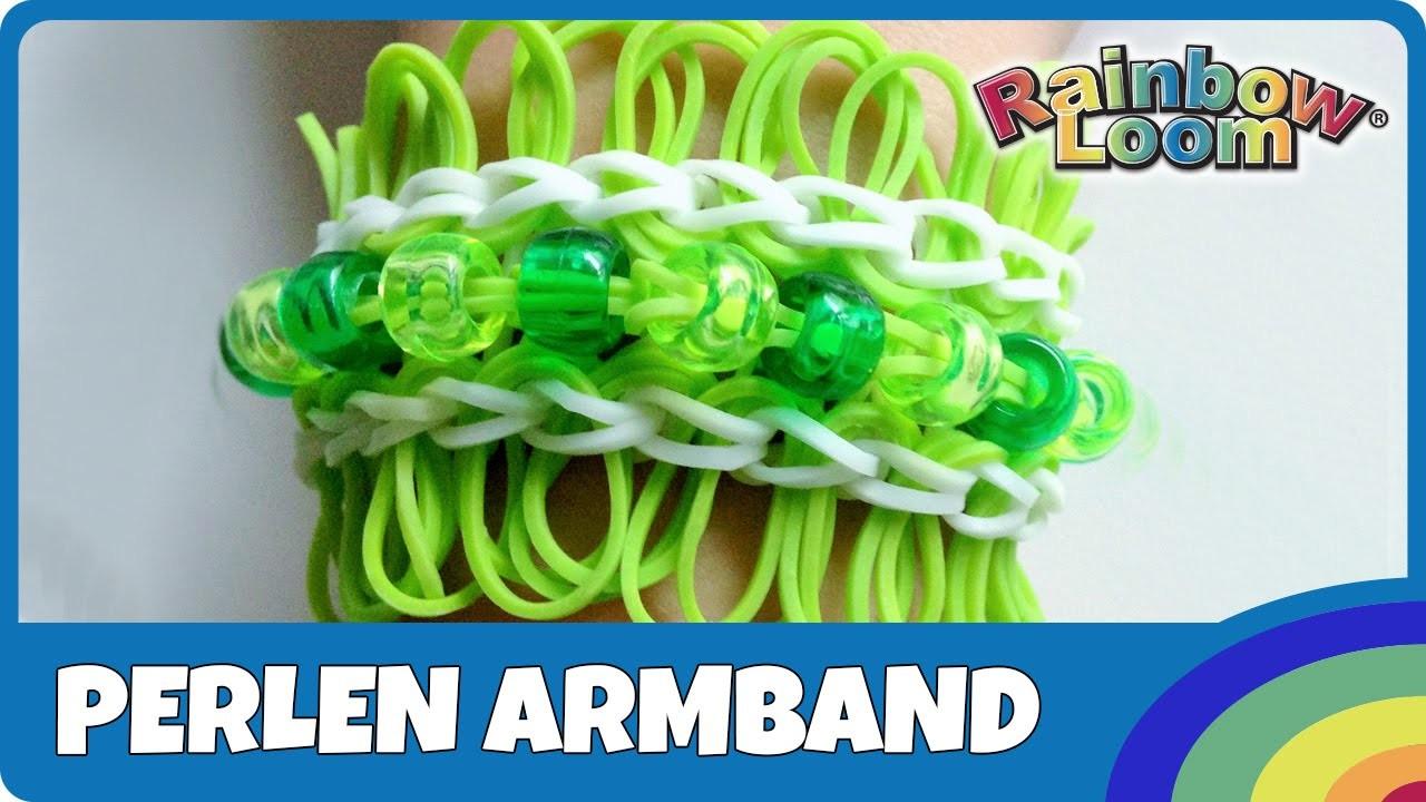 Rainbow Loom Perlen Armband - deutsche Anleitung