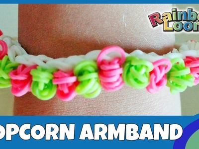 Rainbow Loom Popcorn Armband - deutsche Anleitung