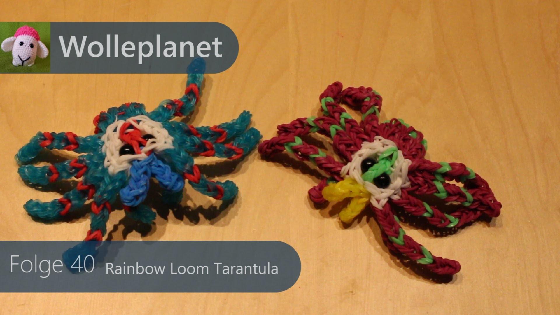 Rainbow Loom - Spinne