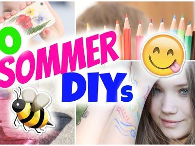 10 SOMMER DIY'S