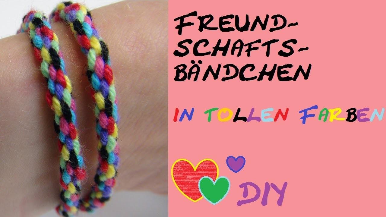 DIY: Einfache Technik für ein besonderes Armband. Freundschaftsband. ohne felchten oder knüpfen