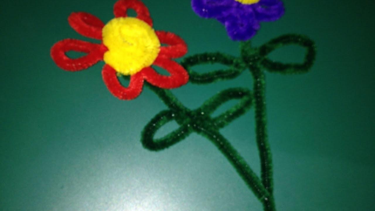 Blumen Einfach Aus Pfeifenreinigern Basteln - DIY Crafts - Guidecentral