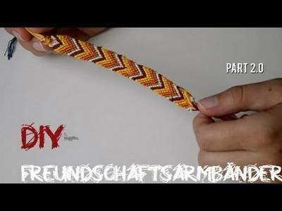 DIY- Freundschaftsarmbänder Part 2.0