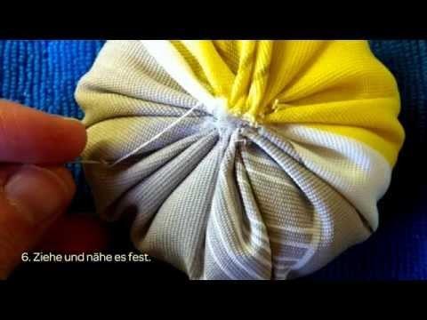 Ein Süßes Kürbis-Nadelkissen Machen - DIY Crafts - Guidecentral