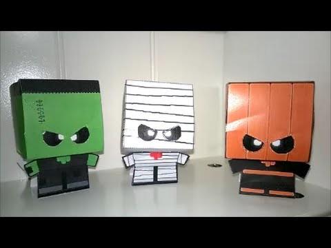 Papercraft Halloween Deko-Tipp. Knittikus D.I.Y. & more