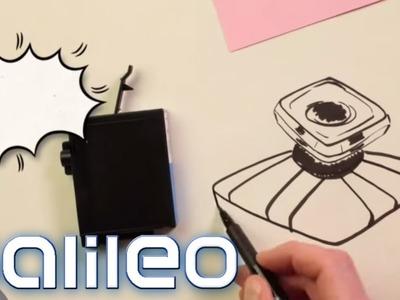 So einfach spart man teure Druckertinte! | Galileo Lunch Break