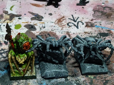 Warhammer Tutorial 013 - Spinnen basteln HALLOWEEN SPECIAL