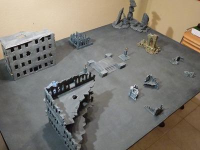 Warhammer Tutorial - Spielplatte selbst bauen