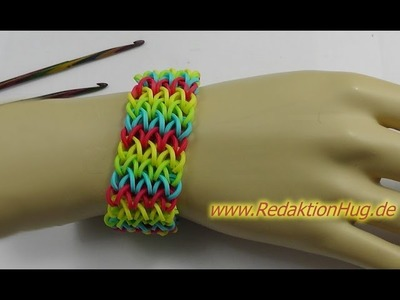 Loom Bands - ohne Rainbow Loom - Deutsch - S
