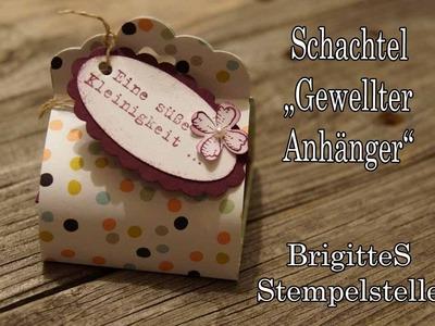"""Schachtel """"Gewellter Anhänger"""""""