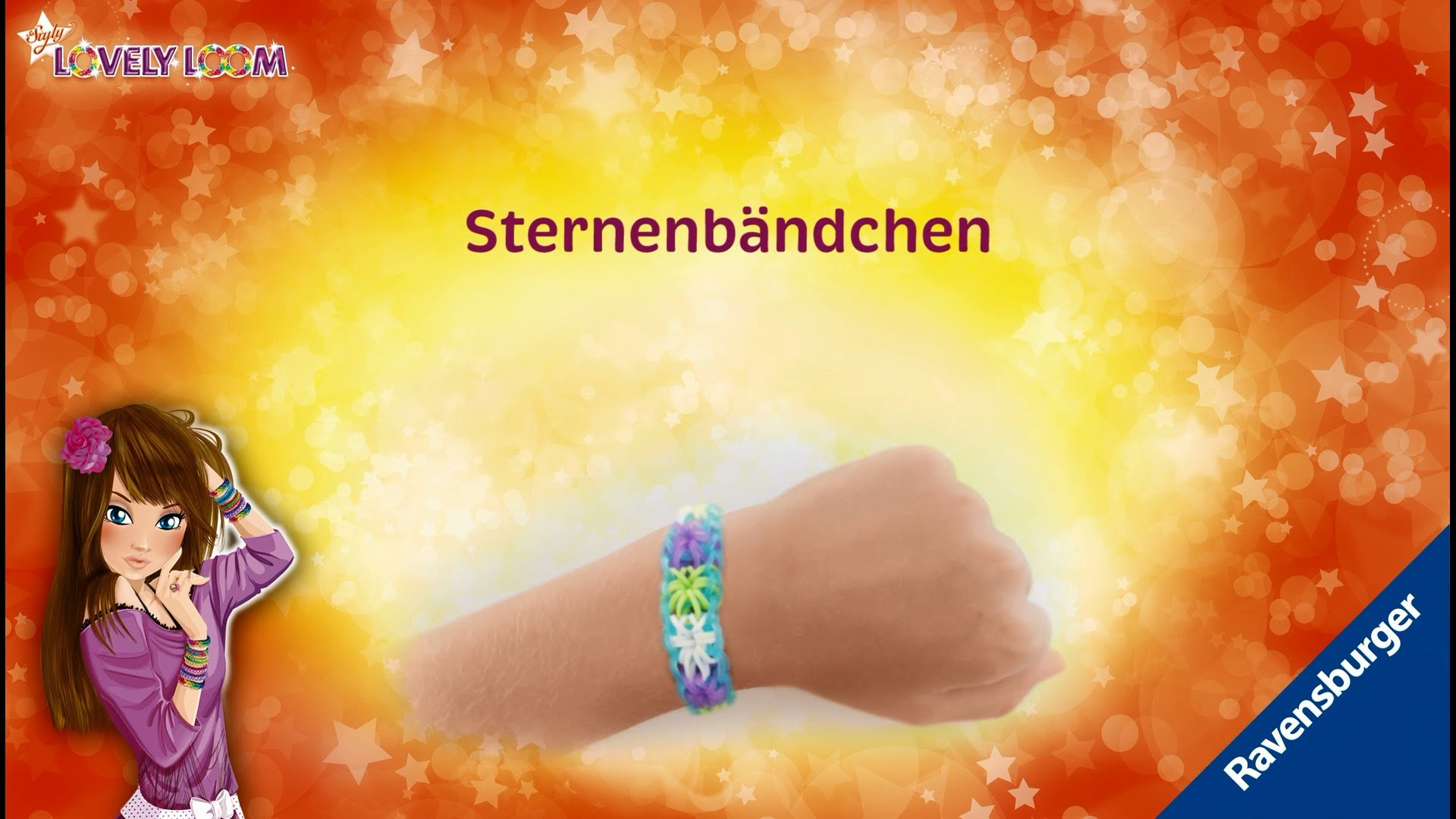 So Styly: Lovely Loom - Sternenbändchen - Video-Anleitung