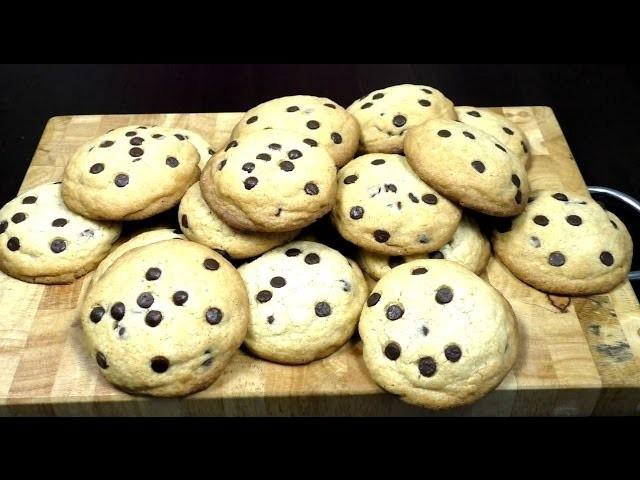 Chocolate Chip Cookie How To. Schokoladen Keks Back Anleitung deutsch Chocolate Cookie