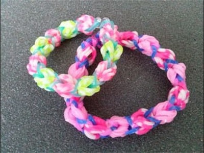 Crazy Loom,Rainbow Loom,Zauber Loom,Armband,Deutsch