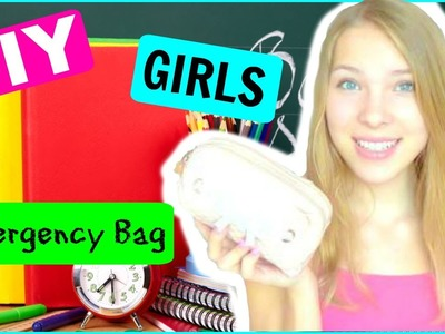 DIY GIRLS EMERGENCYBAG! - #Maggtoschool
