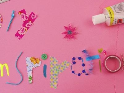 DIY Inspiration Trailer - DIYselbermachen Kanal - loom deko schmuck kosmetik geschenke armbänder