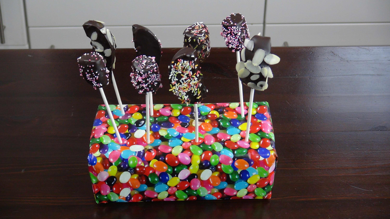 DIY Marshmallows und Apfel Pops ganz schnell einfache Cake Pops selber machen | Eva backt!