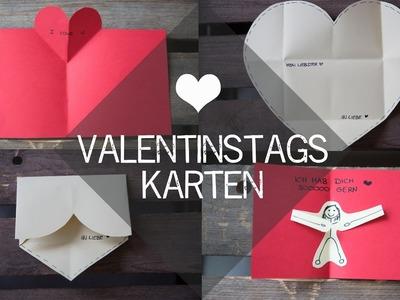 DIY Valentinstags-Karten - kekulo