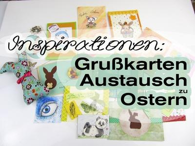 [Inspirationen | VLOG] Grußkarten-Austausch von Ostern :)