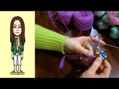 RVO - Raglan von oben Pullover stricken mit V-Ausschnitt (Teil 1 von 12)