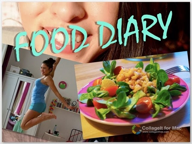 FOOD DIARY   Eine Woche - Meine Ernährung #1