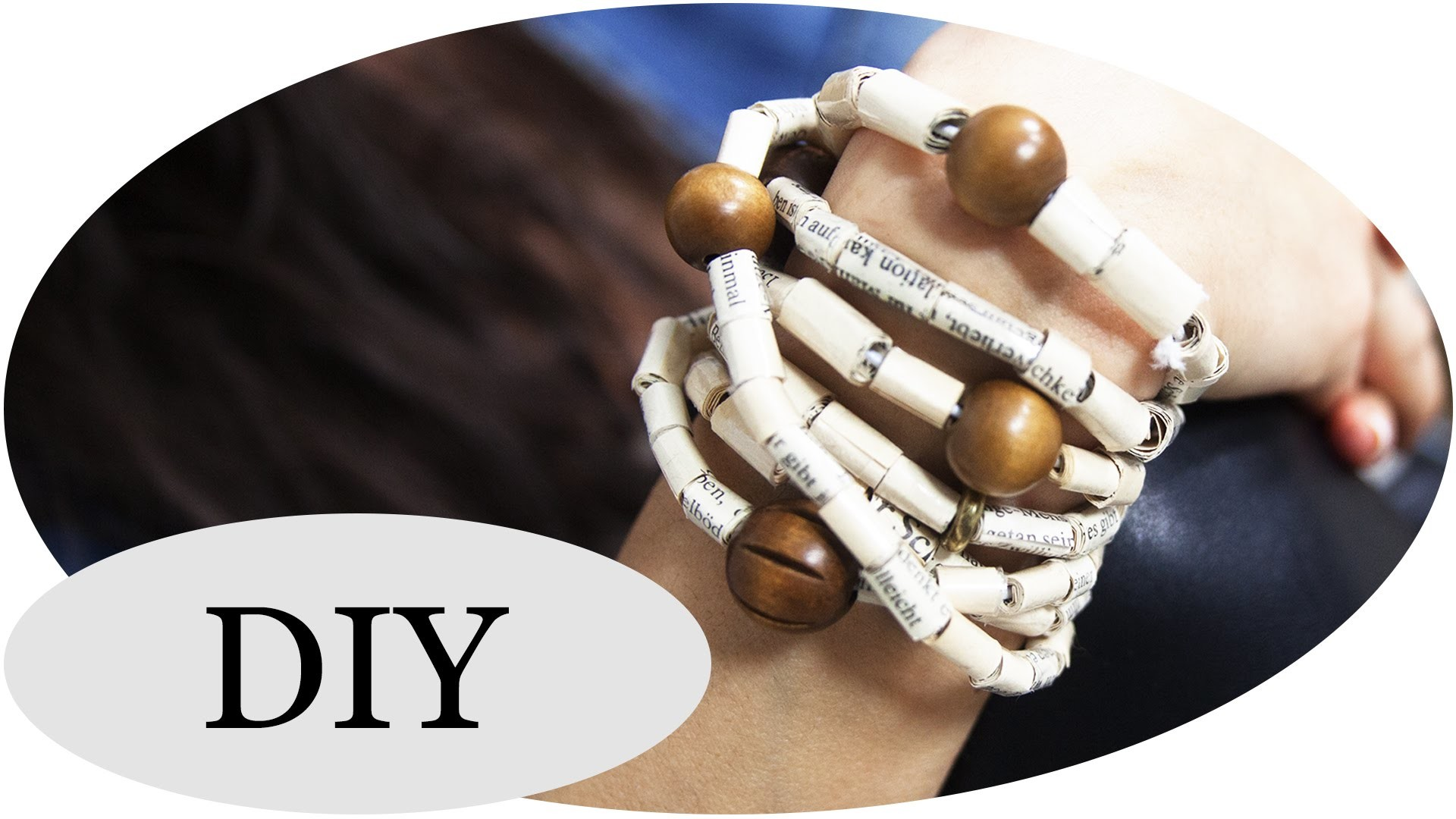DIY Book Bracelet - Stylisches Armband aus Büchern!