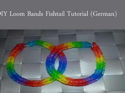 Loom Bands Regenbogen Fischgräten Armband D.I.Y (G